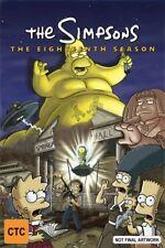 The Simpsons Eighteenth Season 18 DVD NEW Region 4