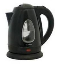 Lloytron E1501 1.7 Litre 3kw 360 Swivel Rapid Boil Cordless Kettle Black Steel