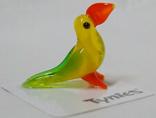SAM Toucan YELLOW TYNIES Tiny Glass Figure Figurines Collectibles 0019 NEW