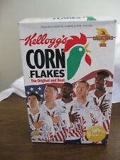 Kellogg's Corn Flakes 1992 Olympic Gold Basketball Box Cereal Larry Bird