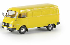 BREKINA HO - # 13301 - MB L 206 D Van, yellow