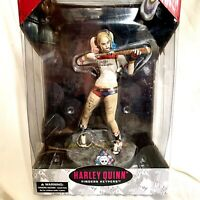 """DC Comics Suicide Squad Harley Quinn Finders Keypers 10"""" Figure w Key Chain"""