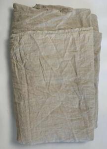 Restoration Hardware RH Stonewashed 100% Linen King Duvet