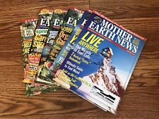 Mother Earth News Magazine 1999 Complete Lot Gardening Homesteading DIY Cooking