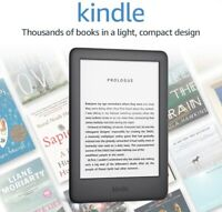"Amazon Kindle (Latest Gen) 2019 Model, 6"" Dis, 4GB Wi-Fi, Built-in Audible, New!"