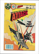 "ATTACK #40  [1983 VG+]  ""THE PEACE KEEPER!"""