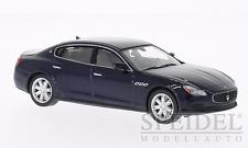 wonderful modelcar MASERATI QUATTROPORTE GS 2013 - darkblue metallic - 1/43