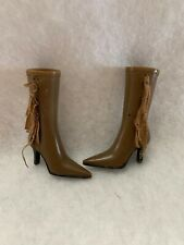 bratz doll wild wild west Fianna cowgirl Long Brown Boots  Replacement