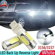 White 6000K 3156 3157 LED Upgrade Projector Back Up Reverse Light Bulbs For GMC