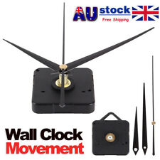 Silient DIY Quartz Movement Wall Clock Motor Mechanism Long Spindle Repair Parts