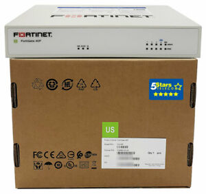 Fortinet FortiGate 40F Secure SD-WAN/Firewall Appliance (FG-40F) Brand New