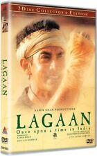 LAGAAN (2001) AAMIR KHAN, GRACY SINGH ~ BOLLYWOOD 2 DISC COLLECTOR'S ED DVD