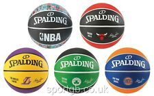 SPALDING BASKETBALL NBA  - BULLS, KNICKS, LAKERS, CELTICS - FULL SIZE