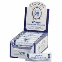 Zig-Zag 70MM White Cigarette - 5 ROLLERS - Machine Zig Zag Roll Papers Rolling