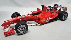 Hotwheels Elite N2078 - Ferrari F2004 Michael Schumacher 2004 Belgium GP