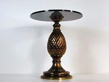 Vintage Mid-Century Italian Bronze Side Table, 1950s