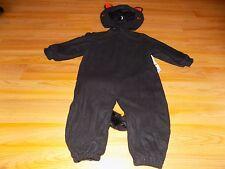 Size 18 Months - 2T Tom Arma Black Orange Kitty Cat Kitten Halloween Costume EUC