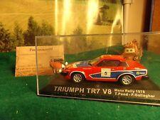 TRIUMPH TR7 V8 RALLY DE MANX 78 POND/GALLAGIER