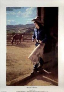 Chauncey Homer Arizona Dreamin Signed Print 2012 Vera Earl Ranch