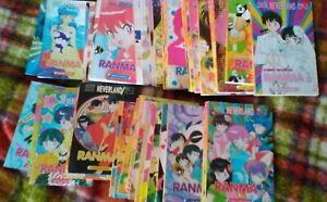 RANMA 1/2 STAR COMICS PRIMA EDIZIONE QUASI COMPLETA RUMIKO TAKAHASHI MANGA LOTTO