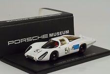 1968 porsche 907 L # 51 3rd 24h Daytona schlesser buzetta 1:43 musée spark