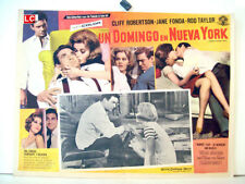 ¡ONLY AVAILABLE 24h.!/ SUNDAY IN NEW YORK/CLIFF ROBERTSON/1964/OPTIONAL SET/5518