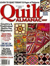 2007 Quilt Almanac Magazine #Q43