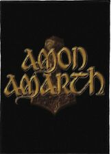 AMON AMARTH BACKPATCH / SPEED-THRASH-BLACK-DEATH METAL