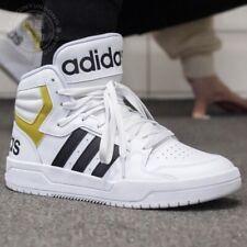 Adidas enredar MID Hombre Sneaker Atlético Blanco Informal Entrenador Zapato de Basketball