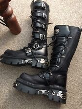 NEW Rock Boots REATTORE goth metal punk rock