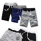 Fashion Men Cotton Shorts Pants Gym Sport Jogging Trousers Casual Pop
