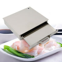 1-Layer Stainless Steel Steamer Steam Tray Food Steaming Machine Household