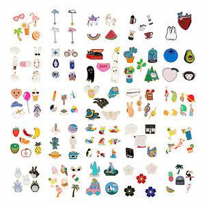 Cartoon Enamel Badge Brooch Lapel Pins Set for Clothing Bags Jackets Accessory