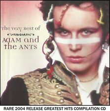 Adam & The Ants - Greatest Essential Hits Collection RARE New Wave Pop 80's CD