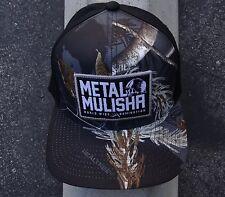 New Metal Mulisha Racing Inlimite Camo Black Flexfit Mens Hat size Sml/Med