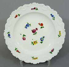 (mt266) Meissen Biedermeier plato muschelkante, streublumen decoración para 1820/30