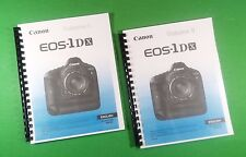 Canon EOS 1DX Camera 432 Page COLOR LASER 8.5X11 Owners Manual Guide