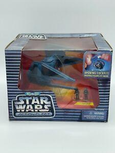 Star Wars Micro Machines Action Fleet Tie Interceptor & Two Imperial Pilots