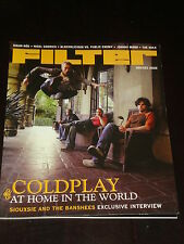 FILTER magazine #3, 2002, Coldplay, Siouxsie and the Banshees, Johnny Marr, RARE