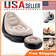 Inflatable Bean Bag Chair Lazy Sofa Leisure Couch Indoor Living Room Bedroom