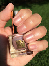 ESTEE LAUDER Nail Polish CRYSTAL BABY 12 Rose Nude Gold Shimmer BNIB LTD RARE!!!