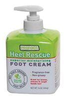 Heel Rescue Foot Cream 16 oz (Pack of 2)