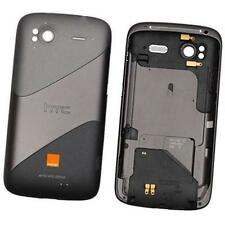 Genuine Batteria originale PORTA POSTERIORE COVER PER HTC SENSATION G-14 con Antena NERO