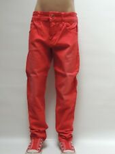 G7478 Rot Restposten~JungenJeans KinderHose~Gr.8ca.128 -Jeans-Fashion69 Neu K19C