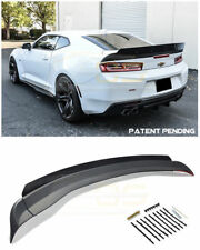 For 16-Up Chevrolet Camaro ALL 1LE Wicker bill Extended Style Rear Trunk Spoiler