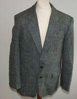 "HERREN luxus Harris Tweed  Sakko Ca Gr. 52 Jacke hochwertig  42"" JACKET BUSINESS"
