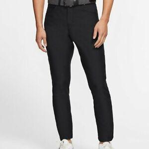 Nike Men's Slim Fit Flex Dri-Fit 6 Pocket Golf Pants, Brand New with Tags, Black