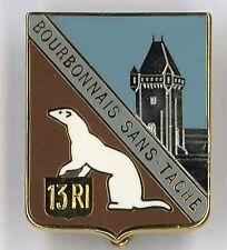 13 Régiment d'Infanterie Insigne AB Paris Bourbonnais RI