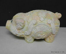 Ornate & Colorful Pig Coin Piggy Bank