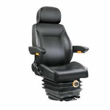 Giantz Adjustbale Tractor Seat With Suspension - Black